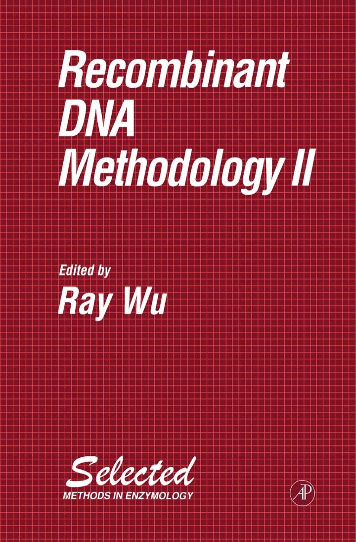Recombinant DNA Methodology II