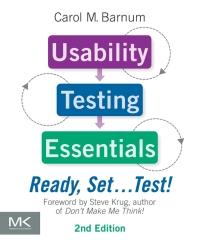 Usability Testing Essentials: Ready, Set…Test!, 2nd Edition 电子书 第1张