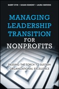 Managing Leadership Transition for Nonprofits 9780132614191