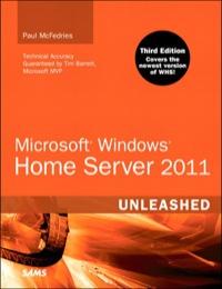 Microsoft Windows Home Server 2011 Unleashed 1st Edition border=