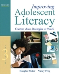 Improving Adolescent Literacy: Content Area Strategies at Work 9780132999175R180