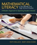 Mathematical Literacy in the Middle and High School Grades 9780133092592R180
