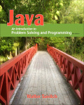 Java: An Introduction to Problem Solving and Programming 9780133464863R180