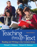 Teaching through Text: Reading and Writing in the Content Areas 9780133558579R180