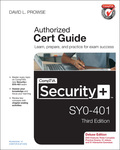 CompTIA Security+ SY0-401 Cert Guide, Deluxe Edition 9780133836462