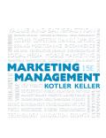 EBK MARKETING MANAGEMENT