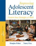Improving Adolescent Litearcy: Content Area Strategies at Work 9780133905458R180