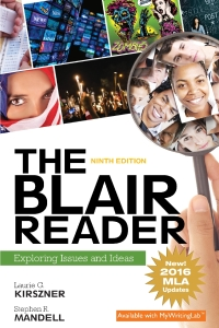 The Blair Reader              by             Laurie G. Kirszner; Stephen R. Mandell