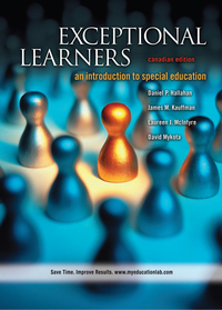 Exceptional Learners              by             Daniel P. Hallahan; James M. Kauffman