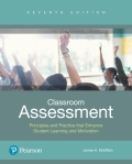 Classroom Assessment: Principles and Practice for Effective Standards-Based Instruction 9780134523231R180