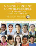 Making Content Comprehensible for Elementary English Learners: The SIOP Model 9780134550343R180