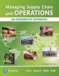 Managing Supply Chain and Operations: An Integrative Approach 9780134740287R180