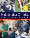 Mathematics for the Trades: A Guided Approach (2-download) 9780134758619R180