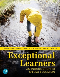 Exceptional Learners              by             Daniel P. Hallahan; James M. Kauffman; Paige C. Pullen