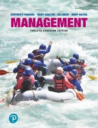 Management, Twelfth Canadian Edition, 12th Edition - PDF