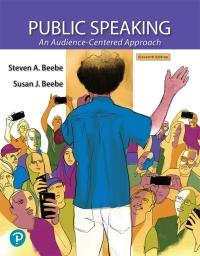 Public Speaking 11th edition | 9780135304990 ...
