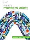 Introduction to Probability and Statistics 9780176725778R180