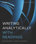 Writing Analytically with Readings 9780176726942R180