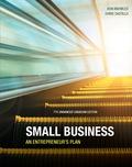 Small Business: An Entrepreneur's Plan, Enhanced 9780176757786R180