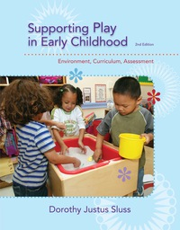 Supporting Play in Early Childhood: Environment, Curriculum, Assessment              by             Dorothy Justus Sluss