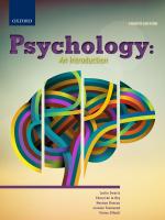 """Psychology: An introduction"" (9780190404697) ePUB"