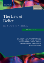 """The Law of Delict in South Africa 3e"" (9780190411657) ePUB"