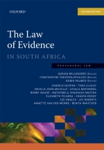 """The Law of Evidence in South Africa 2e"" (9780190414764) ePUB"
