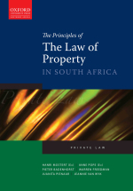 """""""The Principles of The Law of Property in South Africa"""" (9780190415938) ePUB"""
