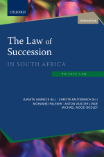 """The Law of Succession in South Africa 3e"" (9780190432638) ePUB"