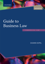 """Guide to Business Law 6e"" (9780190448776) ePUB"
