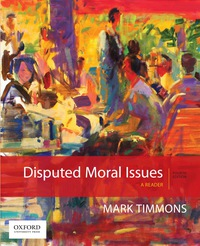mark timmons disputed moral issues 4th edition pdf