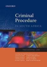 """""""Criminal Procedure in South Africa 1e"""" (9780190731793) ePUB"""