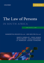 """""""The Law of Persons in South Africa 2e"""" (9780190752224) ePUB"""