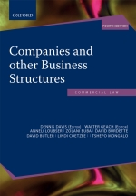 """""""Companies and Other Business Structures in SA 4e"""" (9780190752279)"""