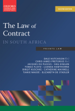 """""""The Law of Contract in South Africa 2e"""" (9780195996470)"""
