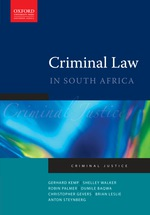 """Criminal Law in South Africa"" (9780199042395)"