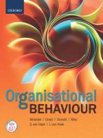 """Organisational Behaviour"" (9780199045624) ePUB"