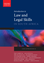 """Introduction to Law and Legal Skills in South Africa"" (9780199046737) ePUB"