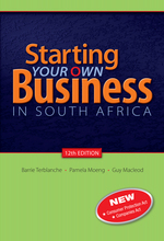 """""""Starting your own business in South Africa 12th edition"""" (9780199051328)"""
