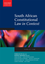 """South African Constitutional Law in Context"" (9780199077991) ePUB"