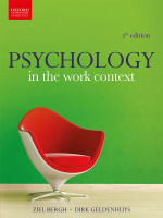 """""""Psychology in the Work Context 5e"""" (9780199079032) ePUB"""