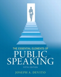 Essential Elements of Public Speaking, The (Subscription ...