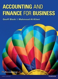 Accounting and Finance for Business              by             Geoff Black; Mahmoud Al-Kilani