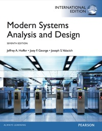 Modern Systems Analysis And Design Hoffer Pdf