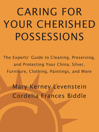 caring for your cherished possessions levenstein mary k