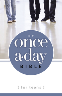NIV, Once-A-Day Bible for Teens, eBook              by             Zonderkidz