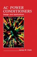 AC Power Conditioners: Design and Application (9780323159920) photo