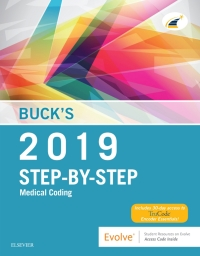 Bucks step by step medical coding 2019 edition e book