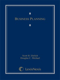 Business Planning              by             Ehrlich, Scott B.