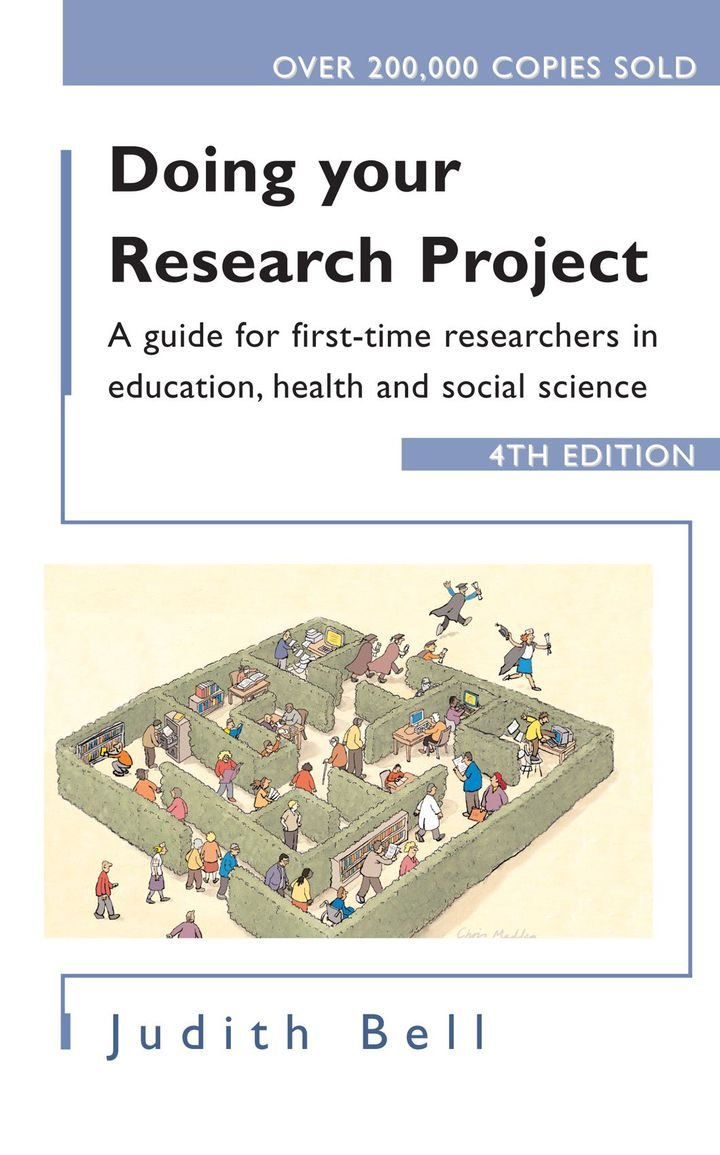 Doing Your Research Project: A Guide for First-Time Researchers in Education, Health and Social Science